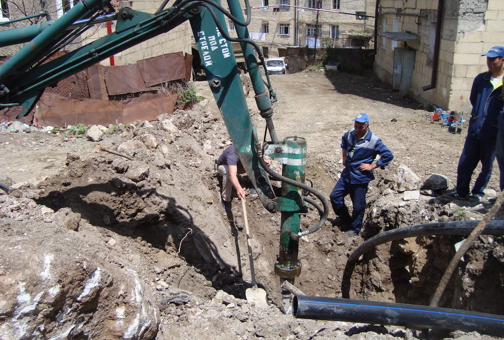 Reconstruction of Potable-Water Infrastructure