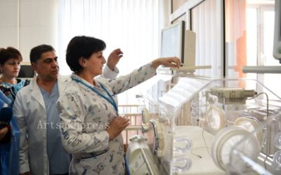 Armenia Fund Donates Neonatal-Care Equipment To Two Medical Institutions In Artsakh